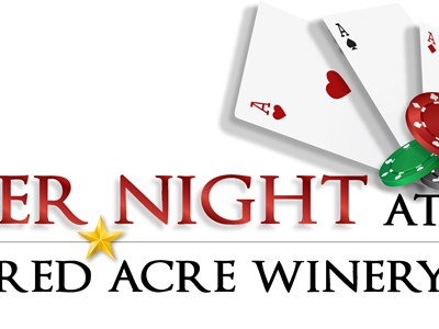 Poker Night at Hundred Acre Winery 2017