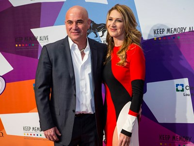Agassi donates $1M at Power of Love gala to support Ruvo Center