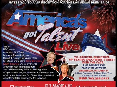 America's Got Talent Live at Planet Hollywood