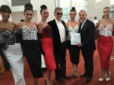 Andrea Bocelli tours Ruvo Center to support program; Tony Bennett's 90th next Keep Memory Alive gala