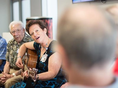 For Dementia Patients, A Dose of Music