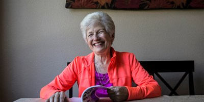 Nancy Nelson answers Alzheimer's diagnosis with poetry writing