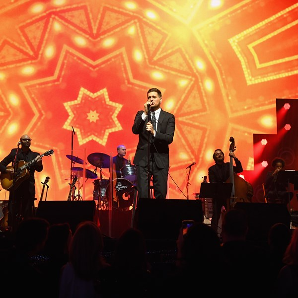 Michael Buble performs at Keep Memory Alive's 22nd annual Power of Love gala