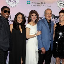 Kenny Babyface Edmonds, Nicole Pantenburg, Camille Ruvo, Larry Ruvo and Marcia Gay Harden