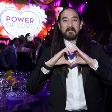 Steve Aoki shows his support at Keep Memory Alive's 22nd annual Power of Love gala