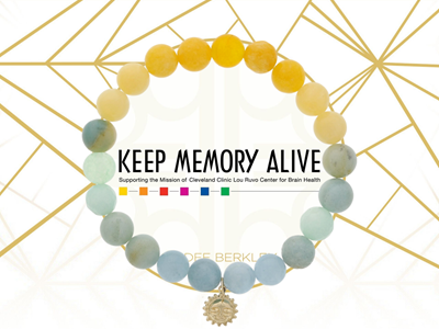 KMA x Dee Berkley Custom Bracelet for Brain Health