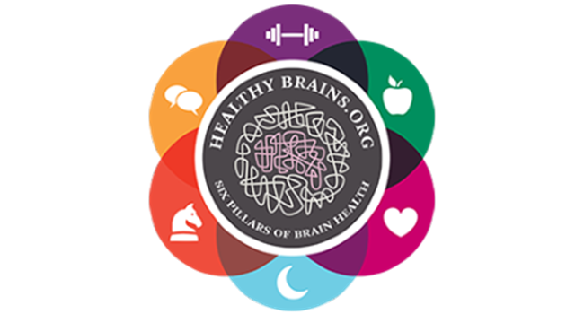 Healthy Brains 6 pillars